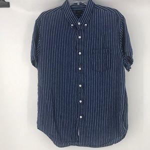 J. Crew 100% Irish Linen short sleeve shirt